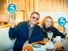 Программный директор Дорожного радио Андрея Михайлов и заместитель главного редактора газеты Мир новостей Раиса Чапала