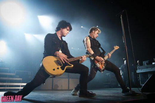 Группа Green Day покидает сцену