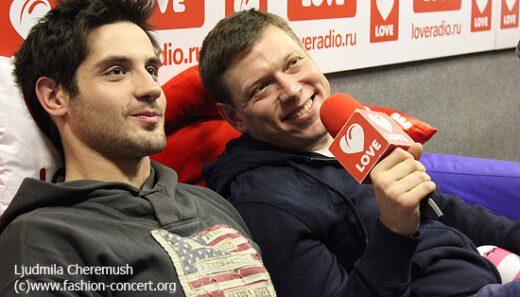 Марк Богатырев и Сергей Лавыгин на «Пижамной вечеринке» 15.12.2013