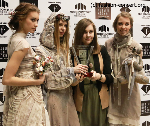 «Русский силуэт» Moscow Fashion Week