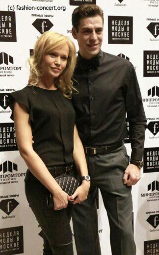 Дмитрий Дюжев показ Николая Красникова Moscow Fashion Week