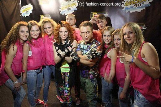 Интервью с участниками Большой Дискач 90-х Ray Just Arena 21.06.2014