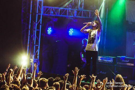 Blessthefall (USA) в клубе Volta (21.06.14 ФОТО)