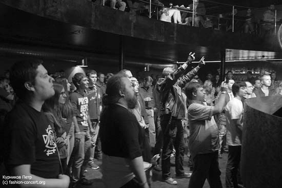 Группа «Телевизор» клуб Brooklyn (11.10.2014 ФОТО)