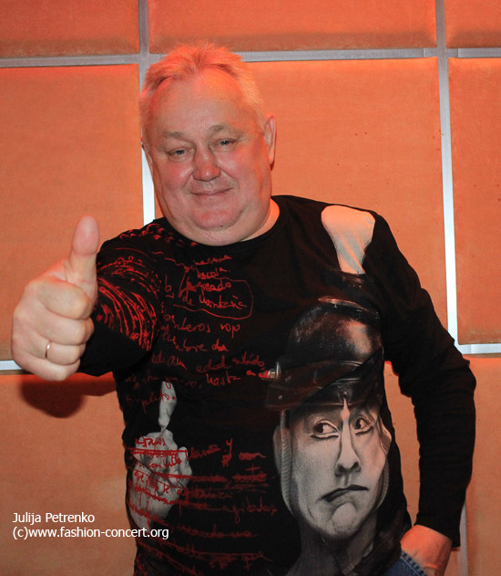 Солист группы «Сладкий сон» Сергей Васюта отпраздновал свой юбилей Александр Боржемский