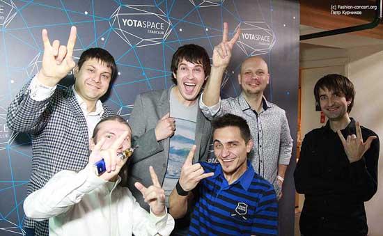 Группа «Мэнчестер» в  Yotaspace