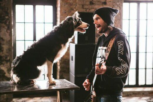 Noize MC и звездный пёс Пират сняли совместный клип