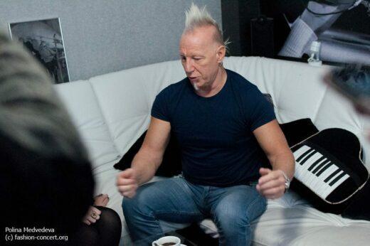 Майк Террана вновь сыграл на барабанах в России!