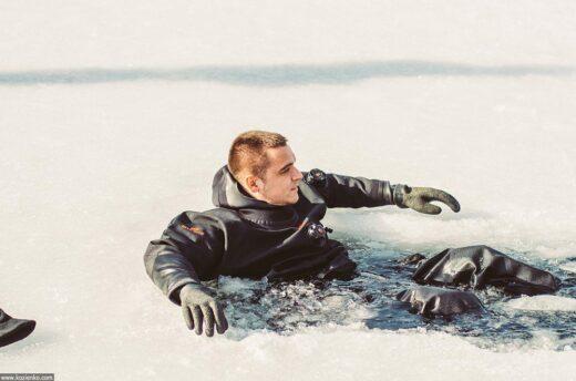 Кирилл Нагиев и группа «Марсель» спасли девушку, провалившуюся под лед
