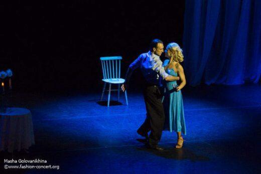 """Концерт """"Мелодия любви"""" в ММДМ. Театр танца """"Рандеву"""" под руководством Евгения Малышко."""