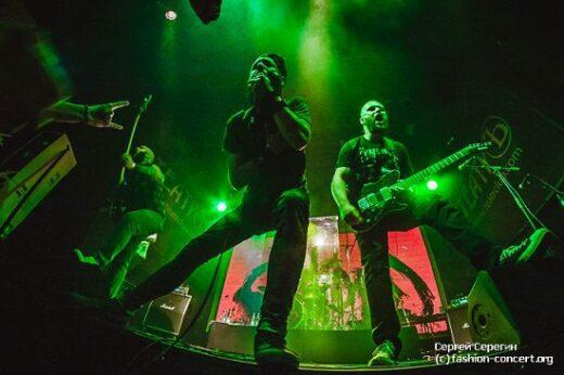 Фотографии с московского концерта немецкой metalcore группы Caliban в клубе Театръ 5 июня 2015 года