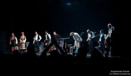 29 мая в московском клубе Yotaspace выступил босниец Горан Брегович.