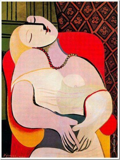 Пикассо: муза во «Сне»