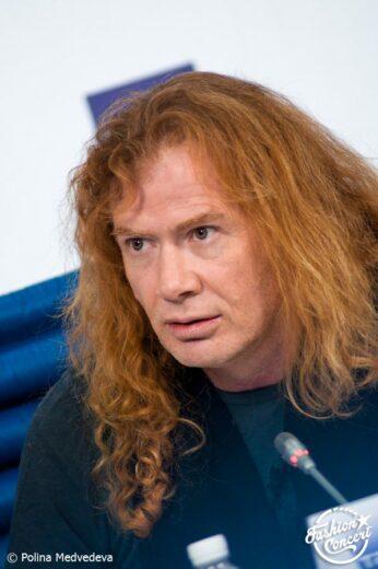 Пресс-конференция группы Megadeth