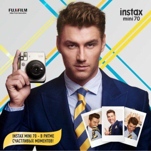 Fujifilm и First Music Agency начали сотрудничество с запуска кампании Instax mini 70.