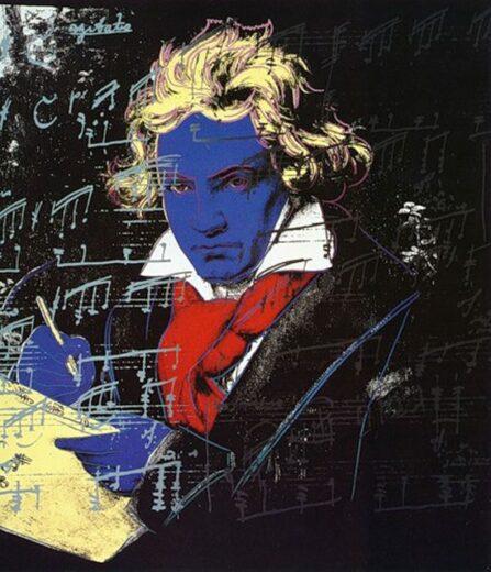 Портрет Людвига ван Бетховена