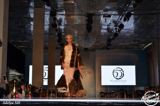 Меха-триумфаторы на подиуме Estet Fashion Week