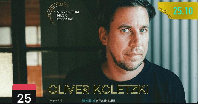 VERY SPECIAL MUSIC SESSION: OLIVER KOLETZKI